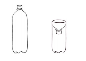 funil-de-garrafa-pet
